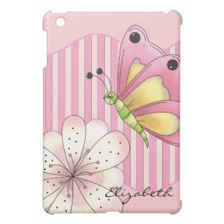 Butterfly and Cherry Blossom iPad Mini Case