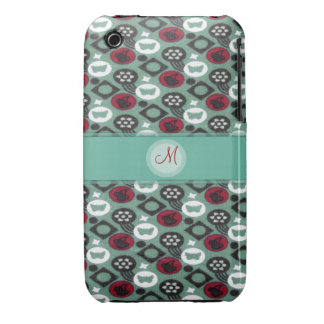 Butterfly and Cherry Fruits Icecream Pattern Case-Mate iPhone 3 Cases