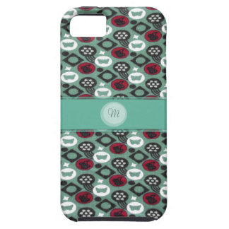 Butterfly and Cherry Fruits Icecream Pattern iPhone 5 Cover