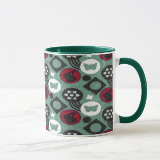 Butterfly and Cherry Fruits Icecream Pattern Mug