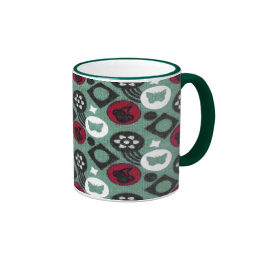 Butterfly and Cherry Fruits Icecream Pattern Mugs