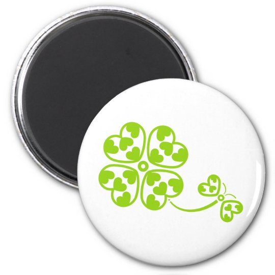 Butterfly_and_Clover Magnet