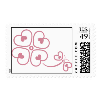 Butterfly_and_Clover Postage Stamps