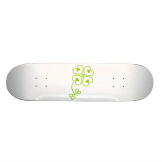 Butterfly_and_Clover Skateboard Deck