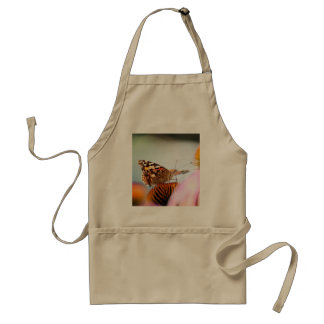 Butterfly And Coneflower Adult Apron