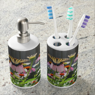 Butterfly and Cosmos Bathroom Sets