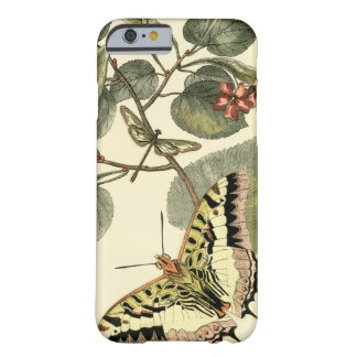 Butterfly and Dragonfly with Red Flowers Barely There iPhone 6 Case