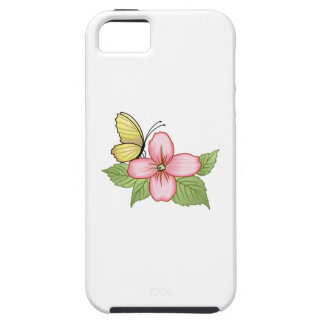 BUTTERFLY AND FLOWER iPhone 5 COVERS