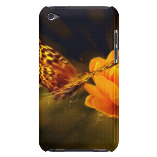 Butterfly and Flower Case-Mate iPod Touch Case