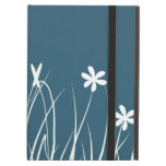 Butterfly and flower meadow.  Graphic art iPad Folio Cases