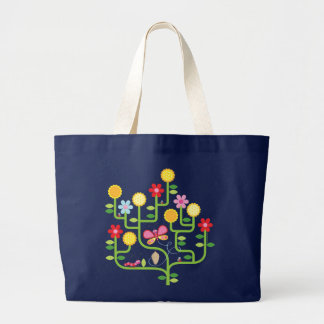 Butterfly and Flowers Bag