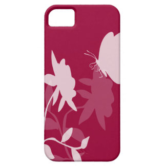 Butterfly and flowers iphone covers