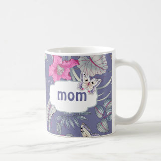 Butterfly and Flowers Mother's Day Gift Mugs