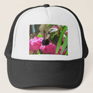 Butterfly and Flowers Trucker Hat