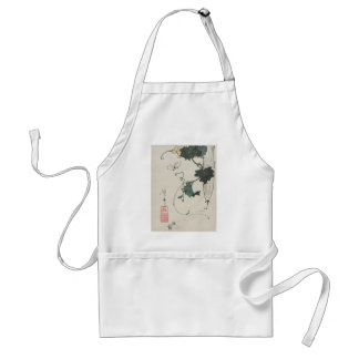 Butterfly and Gourd by Keisai Eisen Adult Apron