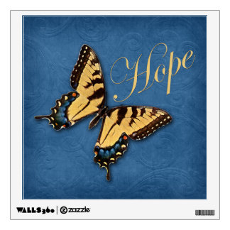 Butterfly and Hope Wall Decal