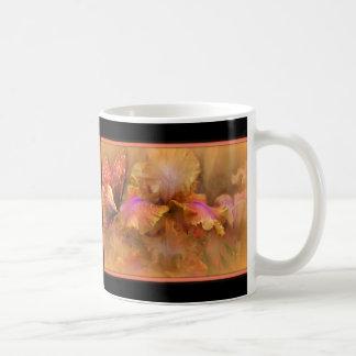 Butterfly and Iris Coffee Mug