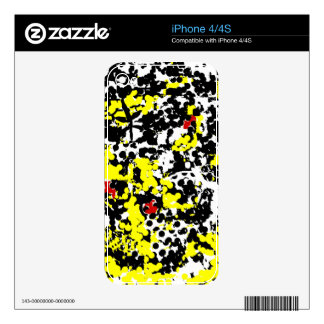 Butterfly and Lady Bugs Skins For The iPhone 4