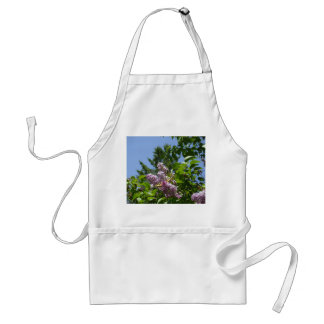 Butterfly and Lilacs Adult Apron
