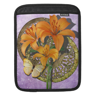 Butterfly and Lillies iPad Sleeve