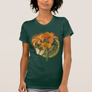 Butterfly and Lillies T-Shirt