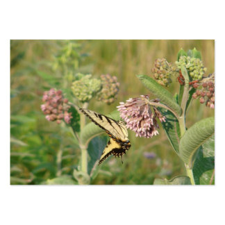 Butterfly and Milkweed Large Business Card