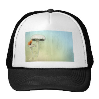 Butterfly And Mushrooms Trucker Hat