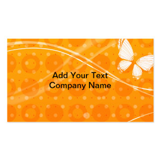 Butterfly and Pattern Business Card