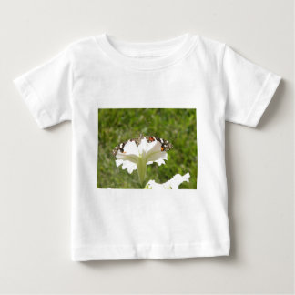 Butterfly and Petunia Baby T-Shirt