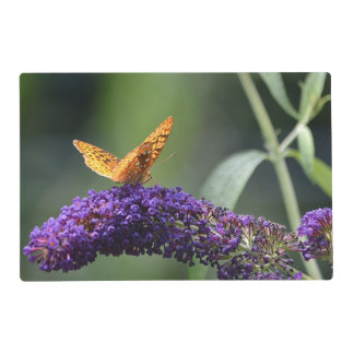Butterfly and Poppy Placemat