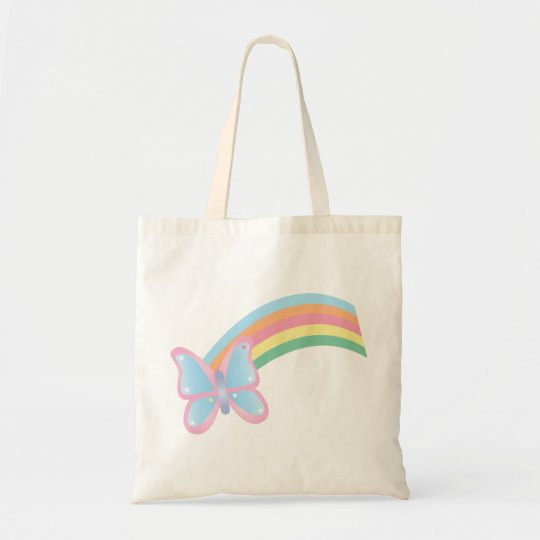 Butterfly and Rainbow Bag