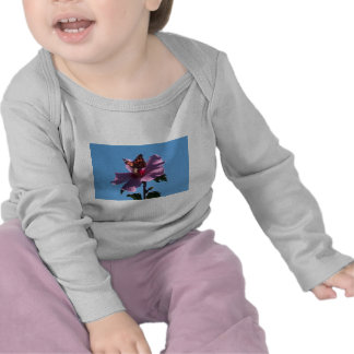 Butterfly and Rose of Sharon Shirts