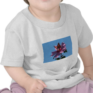 Butterfly and Rose of Sharon T-shirt
