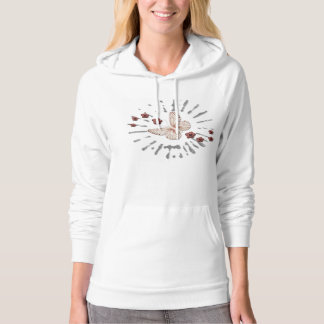 Butterfly and Roses Hoodie