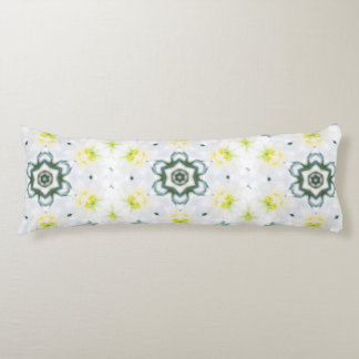 Butterfly and White Lily Body Pillow