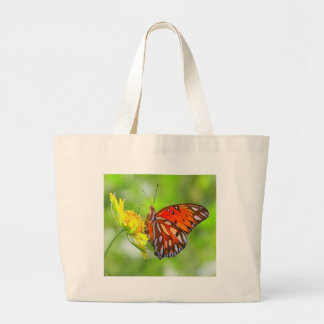 Butterfly and Wildflower Photo Tote Bag