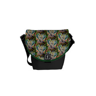 Butterfly Angel Pattern Messenger Bag