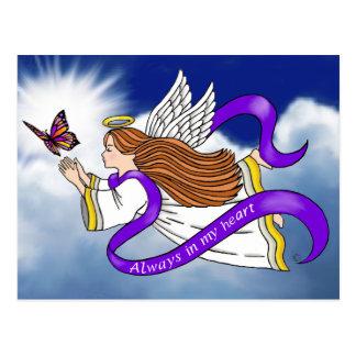 Butterfly Angel Postcard