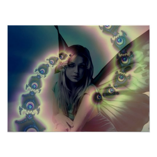 Butterfly Angel - Poster