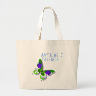 Butterfly Anything is Possible Bag