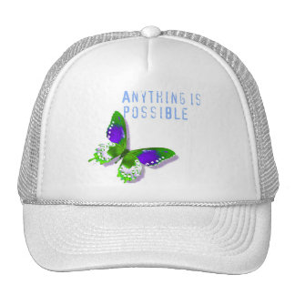 Butterfly Anything is Possible Hat