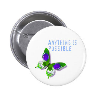 Butterfly Anything is Possible Pin