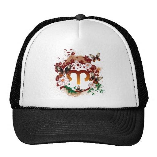 Butterfly Aries Trucker Hats