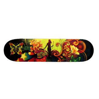 Butterfly Art 20A Skateboard