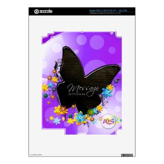 Butterfly Art 25 i Pad Skin iPad 3 Decals