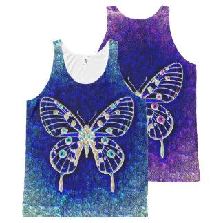 Butterfly Art 52A-52D Options All-Over-Print Tank Top