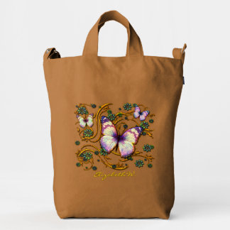 Butterfly Art 6 Image Options Duck Bag