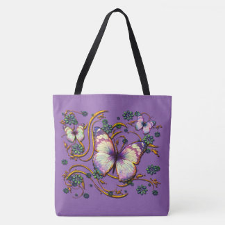 Butterfly Art 6 Image Options Tote Bag