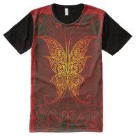 Butterfly Art 7A All-Over Print T-shirt