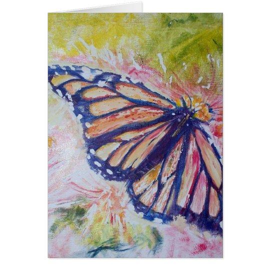 Butterfly Art Design Card